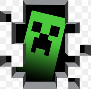 Minecraft - Minecraft Sticker Creeper Wall Decal Video Game PNG