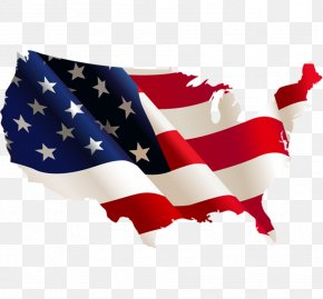 United States - Flag Of The United States Map Flag Of The United Kingdom PNG