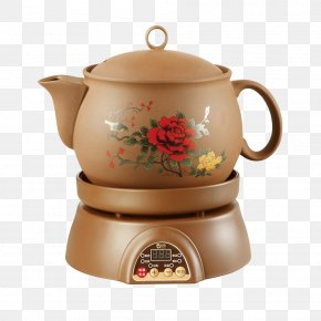 Chinese Medicine Health Pot - Traditional Chinese Medicine Chinese Herbology Kettle Teapot PNG