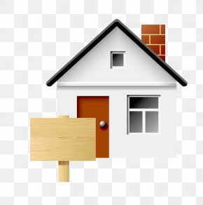 House And Billboard Vector Material - Icon PNG