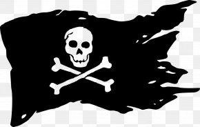 Flag - Jolly Roger USS Kidd (DD-661) Flag Piracy Skull And Crossbones PNG