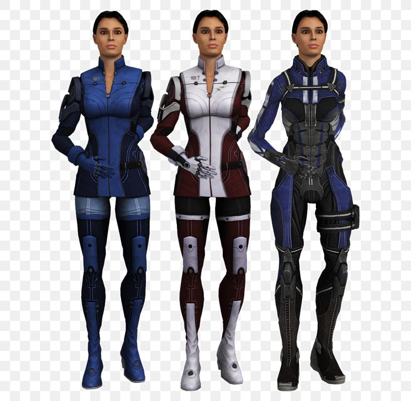 Mass Effect 3 Ashley Williams Armour Commander Shepard