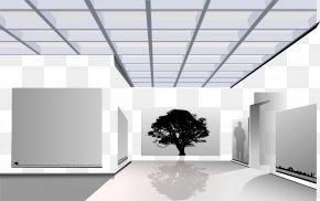 Vector Interior Design - Museum Of Modern Art Art Museum Exhibition PNG
