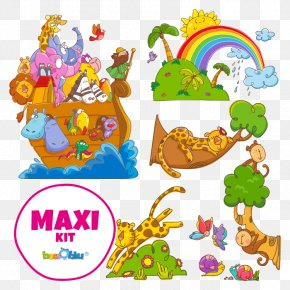 Child - Wall Decal Noah's Ark Clip Art PNG