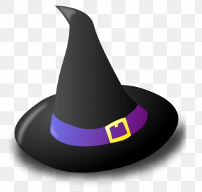 Cute Hat - Witch Hat Clip Art PNG