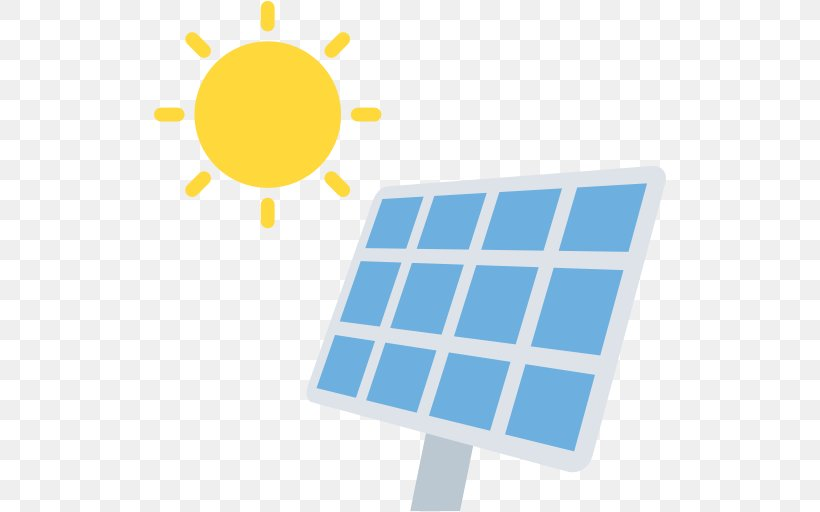 Solar Power Renewable Energy Solar Energy Electricity, PNG, 512x512px, Solar Power, Alternative Energy, Area, Blue, Electrical Energy Download Free