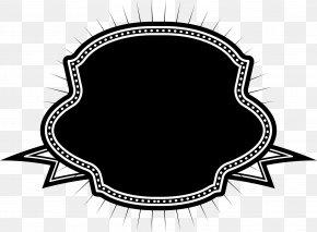Black Sparkle Badge - Service Wedding Award PNG