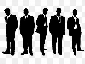 Business Man Silhouette - Silhouette Businessperson Clip Art PNG