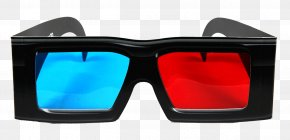 3D Cinema Glasses Image - Polarized 3D System Glasses Icon PNG