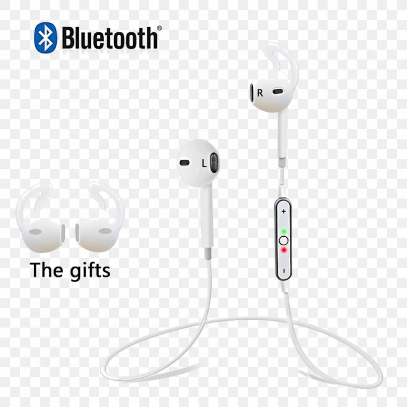 Headphones Microphone Bluetooth Apple Earbuds Wireless, PNG, 1016x1016px, Headphones, Anker Soundbuds Sport, Apple Earbuds, Audio, Audio Equipment Download Free