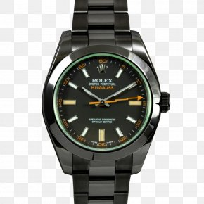 Metalcoated Crystal - Watch Rolex Milgauss Rolex Sea Dweller Bracelet PNG