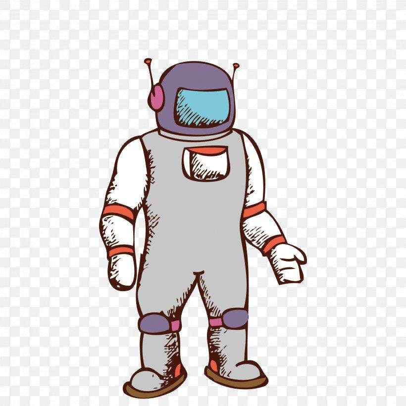 Astronaut Clip Art Drawing Space Suit Illustration, PNG