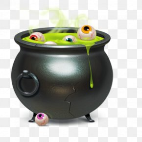 Creative Halloween - Download ICO Halloween Cauldron Icon PNG