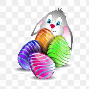Easter Eggs Rabbit - Easter Bunny Easter Egg Rabbit PNG