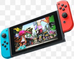 Squid - Splatoon 2 Nintendo Switch Video Game Consoles PNG