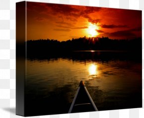 Lake Anne - Ely Boundary Waters Gallery Wrap Canvas Art PNG