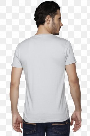 T-shirt - T-shirt Collar Crew Neck Slim-fit Pants Sleeve PNG