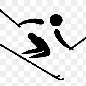 Skiing Transparent Images - Alpine Skiing At The Winter Olympics Winter Olympic Games Cross-country Skiing Clip Art PNG
