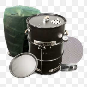 Pellet Drum - Barbecue Smoking BBQ Smoker Ribs Drum PNG