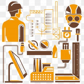Laborer Silhouette Material - Mechanical Engineering Industry Manufacturing PNG