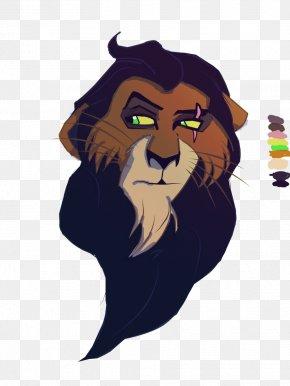 Scar Lion King - Tiger Whiskers Lion Roar PNG