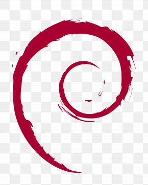 Red Tornado Vector - Debian Linux Distribution Software Repository Operating System PNG