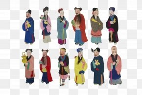 Kimono Doll - Costume Design Outerwear Animated Cartoon PNG