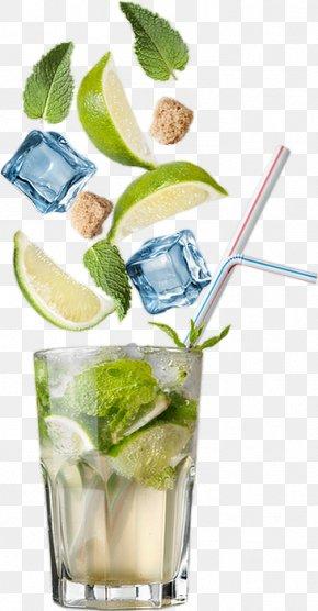 Alcoholic Beverage Vodka And Tonic - Mojito PNG