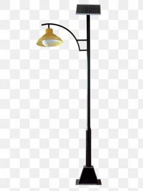 The Street Lights In The Park - Solar Street Light Solar Lamp PNG