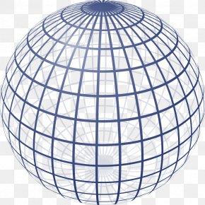 Sphere - Sphere Geometry Website Wireframe Two-dimensional Space Three-dimensional Space PNG