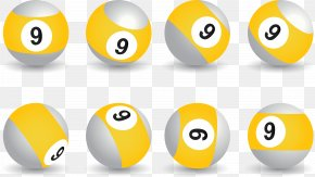 Billiard Ball, Sphere, Gradient - Ball Lottery Icon PNG