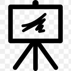 Painting - Painting Easel Art PNG