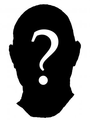 Dog Head Silhouette - Question Mark Clip Art PNG