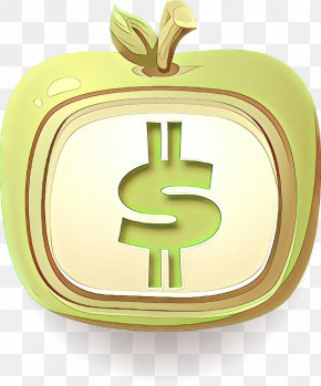Money Handling Plant - Green Currency Dollar Apple Money PNG