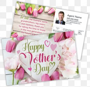 Happy Mothers Day Flyer - Mother's Day Real Estate Estate Agent Father's Day PNG