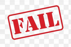 Fail Stamp Picture - Stock Illustration Clip Art PNG