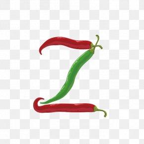 Pepper Alphabet Z - Z English Alphabet Letter Typeface Font PNG