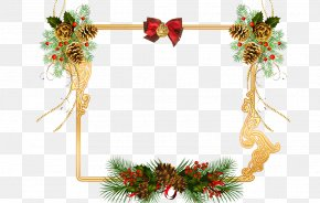 Christmas Tree - Christmas Day Picture Frames Clip Art Image PNG