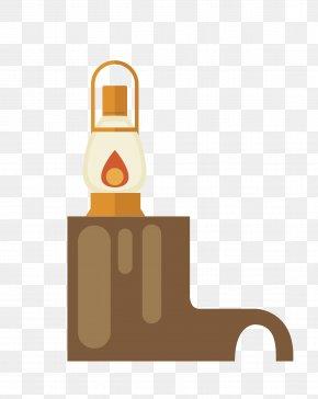 Vector Dark Kerosene Lamp Lighting - Lighting Kerosene Lamp PNG
