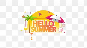 Hello Summer - Summer Illustration PNG