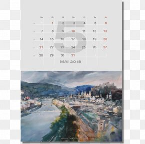 Water - Water Resources Stock Photography Calendar PNG