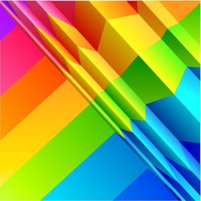 Rainbow Free Download - Origami Paper Clip Art PNG
