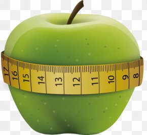 Apple Tape Measure - Tape Measure Apple Measurement Clip Art PNG
