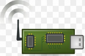 Wireless Cliparts - Wireless Sensor Network Internet Of Things Clip Art PNG