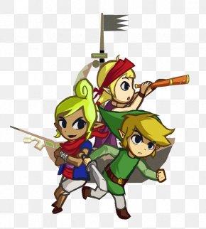 Legend Of Zelda The Wind Waker - The Legend Of Zelda: The Wind Waker Link Tetra Drawing PNG