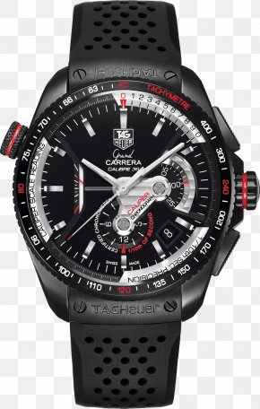 Watch - Chronograph Automatic Watch TAG Heuer Chronometer Watch PNG