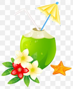 Summer Exotic Coctail Clipart Image - Clip Art PNG
