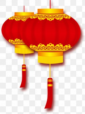 Chinese New Year Lantern Favorite Creatives - Lantern Firecracker Chinese New Year PNG