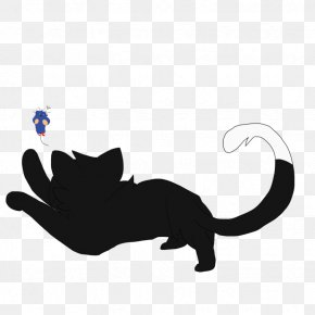 Cat - Whiskers Cat Silhouette Tail Clip Art PNG