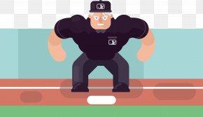 Baseball Goalkeeper - Ball Game Shoulder Baseball Umpire Illustration PNG